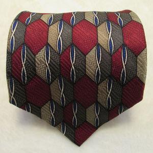 New Zanzara Handmade Silk Multicolor Necktie